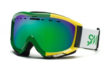 Smith Prophecy Goggles, Irie Stereo, Green Sol X Mirror PR6NXIS11