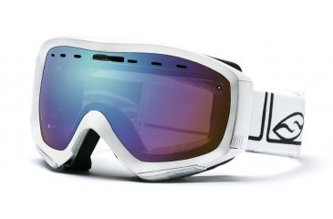 Smith Optics Prophecy Ski Goggles - White Foundation Sensor Mirror