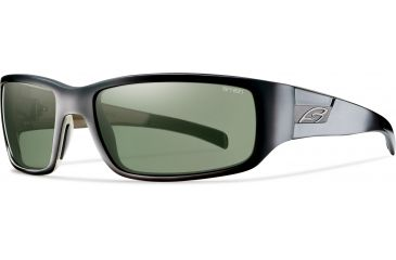 Smith Optics Prospect (New) Sunglasses - Black Frame, Polarized Gray Green Lenses POPPGYBK