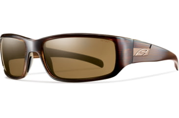 Smith Optics Prospect (New) Sunglasses - Brown Stripe Frame, Polarized Brown Lenses POPPBRBS
