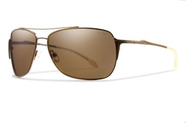 Smith Optics Rosewood Sunglasses - Matte Desert, Polarized Brown Carbonic RWPPBRMD