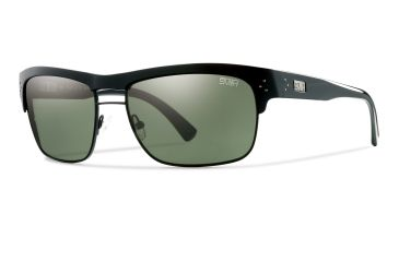 Smith Optics Scientist Sunglasses - Black Frame, Polarized Gray Green Techlite Glass STGPGYBK
