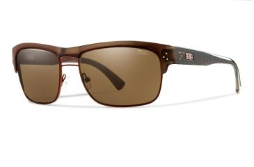 Smith Optics Scientist Sunglasses - Brown Frame, Brown Techlite Glass STGLBRBR