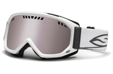 Smith Optics Scope Goggles - White Frame, Ignitor Mirror Lenses SC3IWT12