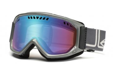 Smith Scope Pro Goggles, Charcoal/Frost Foundation, Sensor Mirror SP3ZCF11