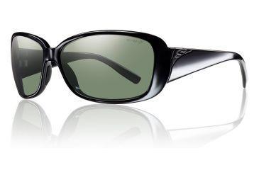 Smith Optics Shorewood sg, Black/pol Gray grn chrom lens SORPGNBK