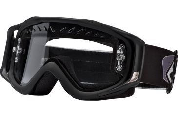 Smith Optics Fuel V.2 Goggles Enduro Black w/ Clear AFC Dual Airflow Lens FL3CFBK11
