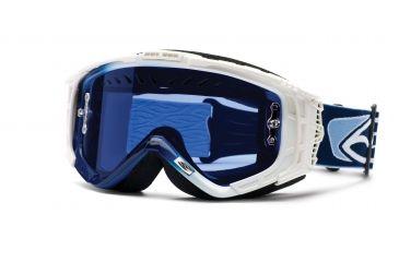 Snow Optics Snow Intake Sweat-X Goggles - Navy-White frame