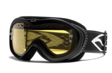 Smith Snow Sonic Youth Snowmobiling Youth Goggles - Black