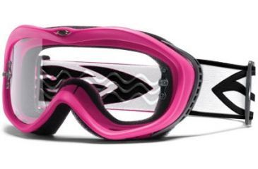 Smith Optics Sonic Goggles - Hot Pink frame, Clear lens