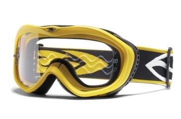 Smith Optics Sonic Goggles - Yellow frame, Clear lens