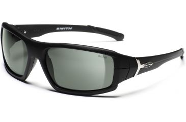 a92d273d9f3b Smith Optics Spoiler Interlock Sunglasses with Matte Black Evolve frames  and Gray lenses