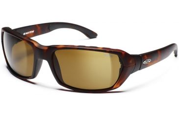 Smith Optics Trace Sunglasses with Matte Tortoise Evolve frames and Brown lenses