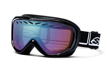 Smith Transit Pro Skiing Goggles - Black Foundation Frame, Sensor Mirror Lens