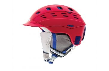 Smith Optics Variant Brim Womens Helmet, Neon Red Typepress, Medium H13-VWNDTMD