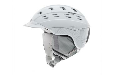 Smith Optics Variant Brim Womens Helmet, White Coven, Large H13-VWWCLG