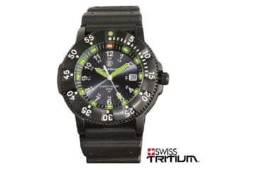 Smith & Wesson Diver Watch, Tritium, 45 Mm, B - SWW-357-R