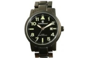 Smith & Wesson Pilot Watch - Round Face, Black SWW-167 SWW-167