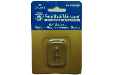 Smith Wesson Xenon Flashlight Replacement Bulbs, Replacement Bulbs S&W Xenon 4.5v, .85 Replacement Bulb - 9X Galaxy Flashlight