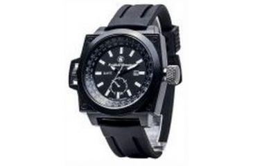 Smith & Wesson Water Resistant EGO Watch w/ Silicon Strap, 49mm, Black SWW-LW6097