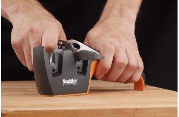 Smiths Sharpeners Edge Pro Pull-Thru, Black/Orange 50090