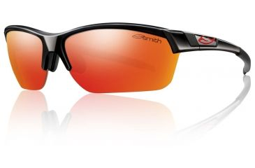 Smith Optics Approach Max Sunglasses - Black Frame w/ Red Mirror/Ignitor/Clear and APMPCDMBK