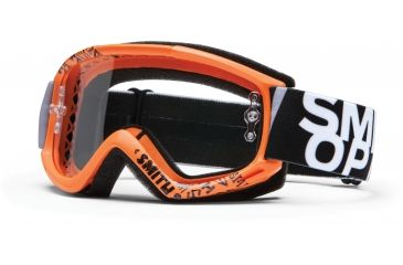 Smith Optics Fuel v.1 MX Goggles - Orange Fader Frame w/ Clear Anti Fog Lens FV1CFOF13