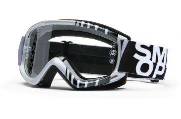 Smith Optics Fuel v.1 MX Goggles - Silver Vert Frame w/ Clear Anti Fog Lens FV1CFVV13