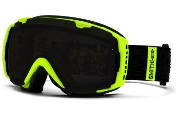 Smith Optics I/O Snow Goggles - Acid W3 Frame w/ Blackout and Blue Sensor Lens IO7BKAW13
