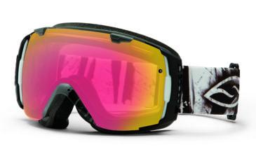 Smith Optics I/O Snow Goggles - Charcoal Batik Frame w/ Red Sensor and Platinum Lens IO7RZCB13