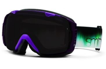 Smith Optics I/O Snow Goggles - Violet Ombre Frame w/ Blackout and Blue Sensor Lens IO7BKVR13