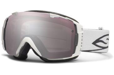 Smith Optics I/O Snow Goggles - White Frame w/ Ignitor and Blue Sensor Lens IO7IWT12