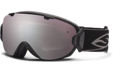 Smith Optics I/OS Snow Goggles - Black Frame w/ Ignitor and Blue Sensor Lens IS7IBK12
