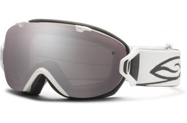 Smith Optics I/OS Snow Goggles - White Frame w/ Ignitor and Blue Sensor Lens IS7IWT12
