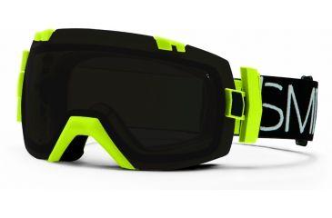 Smith Optics I/OX Snow Goggles - Acid Blockhead Frame w/ Blackout and Red Sensor Lens IL7BKAB13