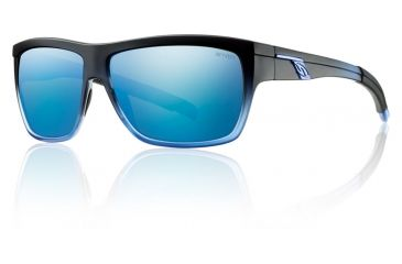 Smith Optics Mastermind Sunglasses - Black N Blue Frame w/ Blue Sol-X Lens MMPCUGMBB