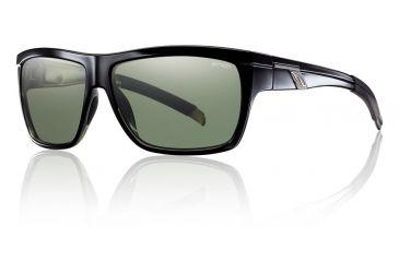Smith Optics Mastermind Sunglasses - Black Frame w/ Polarized Gray Green Lens MMPPGNBK