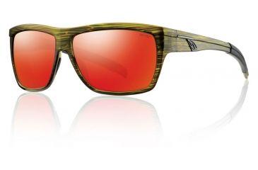 Smith Optics Mastermind Sunglasses - Seaweed Frame w/ Red Sol-X Lens MMPCDMSW