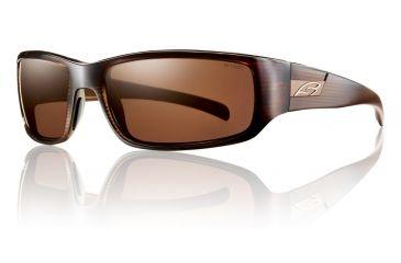 Smith Optics Prospect Sunglasses - Brown Stripe Frame w/ Polarized Copper Lens POPPCPBS