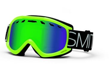 Smith Optics Sentry Snow Goggles - Acid Blockhead Frame w/ Green Sol X Lens SN4NXAB13