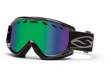 Smith Optics Sentry Snow Goggles - Black Frame w/ Green Sol X Lens SN4NXBK13