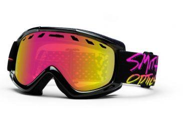 Smith Optics Sentry Snow Goggles - Stay Rad Frame w/ Red Sensor Lens SN4RZSR13
