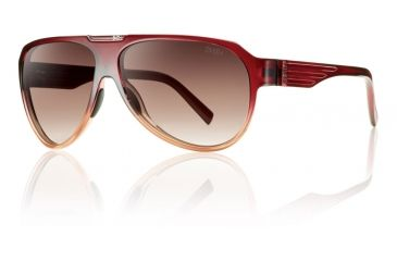 Smith Optics Soundcheck Sunglasses - Scarlet Fade Frame w/ Sienna Gradient Lens SUPCSNGSF