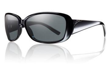 Smith Optics Womens Shorewood Sunglasses - Black Frame w/ Polarized Gray Lens SOPPGYBK