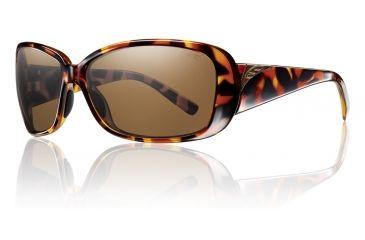 Smith Optics Womens Shorewood Sunglasses - Vintage Tortoise Frame w/ Polarized Brown Lens SOPPBRTT