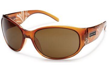 Suncloud Polarized Optics Carousel Sunglasses - Cola Laser Frame and Brown Polarized Polycarbonate Lens S-CAPPBRCZ