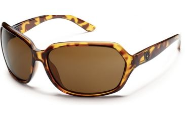 Suncloud Polarized Optics Empress Sunglasses - Tortoise Frame and Brown Polarized Polycarbonate Lens S-EMPPBRTT