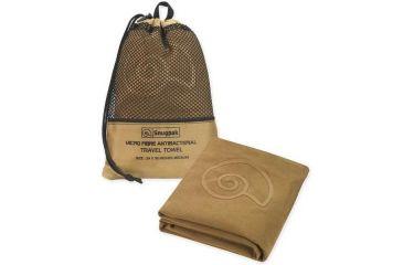 SnugPak Microfibre Antibacterial Travel Towel, Coyote, Medium SP97330