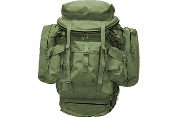 BlackHawk S.O.F. Ruck Kit w/ Frame, Pack, Pad, Shoulder Straps - OD Green 60SOFKOD