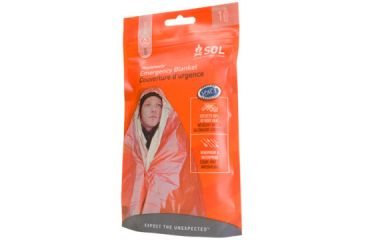 SOL Emergency Survival Heat Reflective Blanket 0140-1222